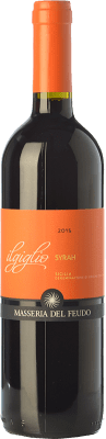 12,95 € Free Shipping | Red wine Masseria del Feudo I.G.T. Terre Siciliane Sicily Italy Syrah Bottle 75 cl