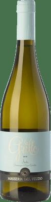 9,95 € Free Shipping | White wine Masseria del Feudo I.G.T. Terre Siciliane Sicily Italy Grillo Bottle 75 cl