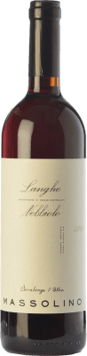 22,95 € Free Shipping | Red wine Massolino D.O.C. Langhe Piemonte Italy Nebbiolo Bottle 75 cl