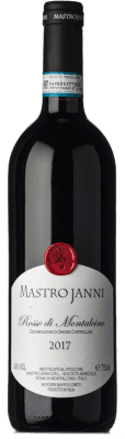 25,95 € Free Shipping | Red wine Mastrojanni D.O.C. Rosso di Montalcino Tuscany Italy Sangiovese Bottle 75 cl