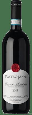 27,95 € Envío gratis | Vino tinto Mastrojanni D.O.C. Rosso di Montalcino Toscana Italia Sangiovese Botella 75 cl