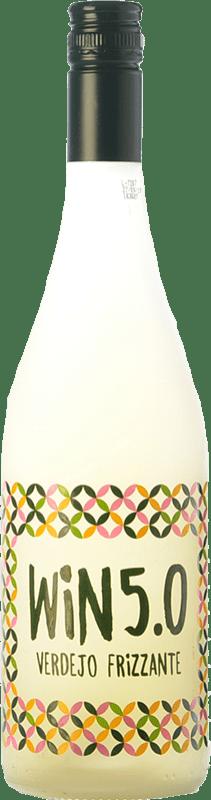 7,95 € Envío gratis | Espumoso blanco Matarromera Win 5.0 Frizzante España Verdejo Botella 75 cl