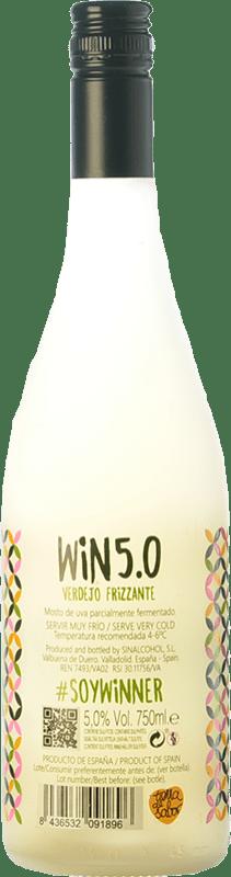 8,95 € Free Shipping | White sparkling Matarromera Win 5.0 Frizzante Spain Verdejo Bottle 75 cl