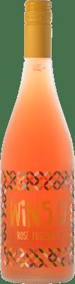 5,95 € Kostenloser Versand | Rosé Sekt Matarromera Win 5.0 Frizzante Spanien Tempranillo Flasche 75 cl