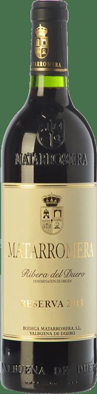 392,95 € Free Shipping | Red wine Matarromera Reserva 1998 D.O. Ribera del Duero Castilla y León Spain Tempranillo Bottle 75 cl