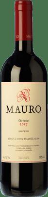 39,95 € Spedizione Gratuita | Vino rosso Mauro Crianza I.G.P. Vino de la Tierra de Castilla y León Castilla y León Spagna Tempranillo, Syrah Bottiglia 75 cl