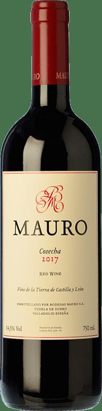 39,95 € Free Shipping | Red wine Mauro Crianza I.G.P. Vino de la Tierra de Castilla y León Castilla y León Spain Tempranillo, Syrah Bottle 75 cl
