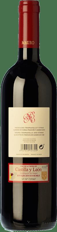 27,95 € Free Shipping | Red wine Mauro Crianza I.G.P. Vino de la Tierra de Castilla y León Castilla y León Spain Tempranillo, Syrah Bottle 75 cl