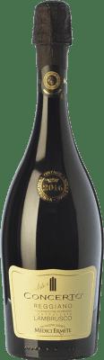 9,95 € Free Shipping | Red wine Medici Ermete Lambrusco Concerto D.O.C. Reggiano Emilia-Romagna Italy Lambrusco Salamino Bottle 75 cl