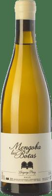48,95 € Kostenloser Versand | Weißwein Mengoba Las Botas Crianza Spanien Godello Flasche 75 cl