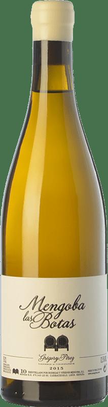 34,95 € Free Shipping | White wine Mengoba Las Botas Crianza Spain Godello Bottle 75 cl