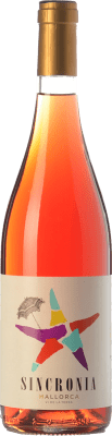 8,95 € Kostenloser Versand | Rosé-Wein Mesquida Mora Sincronia Rosat I.G.P. Vi de la Terra de Mallorca Balearen Spanien Merlot, Cabernet Sauvignon, Callet Flasche 75 cl