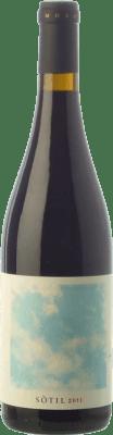 23,95 € Kostenloser Versand | Rotwein Mesquida Mora Sòtil Joven I.G.P. Vi de la Terra de Mallorca Balearen Spanien Callet, Mantonegro Flasche 75 cl