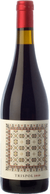 23,95 € Free Shipping | Red wine Mesquida Mora Trispol Crianza D.O. Pla i Llevant Balearic Islands Spain Syrah, Cabernet Franc, Callet Bottle 75 cl