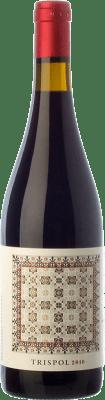 28,95 € Envoi gratuit | Vin rouge Mesquida Mora Trispol Crianza D.O. Pla i Llevant Îles Baléares Espagne Syrah, Cabernet Franc, Callet Bouteille 75 cl