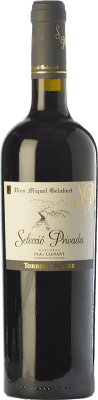 27,95 € Free Shipping | Red wine Miquel Gelabert Torrent Negre Selecció Privada Crianza D.O. Pla i Llevant Balearic Islands Spain Syrah Bottle 75 cl