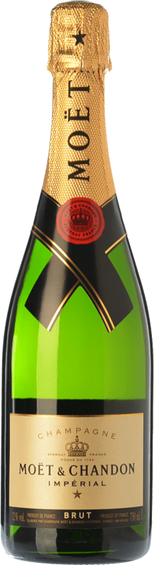 85,95 € Free Shipping | White sparkling Moët & Chandon Impérial Brut Reserva A.O.C. Champagne Champagne France Pinot Black, Chardonnay, Pinot Meunier Magnum Bottle 1,5 L