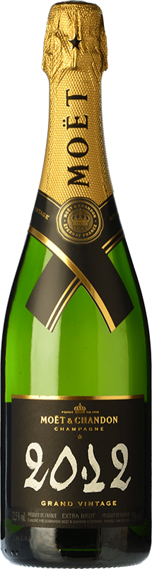 64,95 € Free Shipping | White sparkling Moët & Chandon Grand Vintage Reserva 2009 A.O.C. Champagne Champagne France Pinot Black, Chardonnay, Pinot Meunier Bottle 75 cl