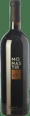 34,95 € Free Shipping | Red wine Monastir S. V Benedictine Crianza D.O. Navarra Navarre Spain Tempranillo, Merlot, Cabernet Sauvignon Bottle 75 cl