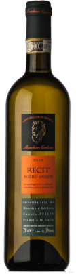 15,95 € Free Shipping | White wine Monchiero Carbone Recit D.O.C.G. Roero Piemonte Italy Arneis Bottle 75 cl