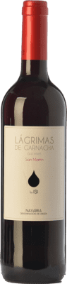 6,95 € Free Shipping | Red wine Mondo Lirondo Lágrimas de Garnacha Joven D.O. Navarra Navarre Spain Grenache Bottle 75 cl