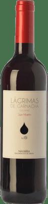 5,95 € Kostenloser Versand | Rotwein Mondo Lirondo Lágrimas de Garnacha Joven D.O. Navarra Navarra Spanien Grenache Flasche 75 cl