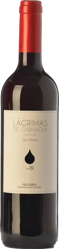 5,95 € Free Shipping | Red wine Mondo Lirondo Lágrimas de Garnacha Joven D.O. Navarra Navarre Spain Grenache Bottle 75 cl
