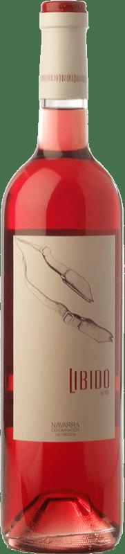 5,95 € Free Shipping | Rosé wine Mondo Lirondo Libido D.O. Navarra Navarre Spain Grenache Bottle 75 cl