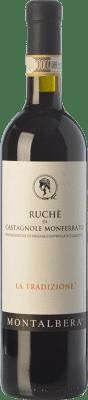 11,95 € Free Shipping | Red wine Montalbera La Tradizione D.O.C. Ruchè di Castagnole Monferrato Piemonte Italy Ruchè Bottle 75 cl