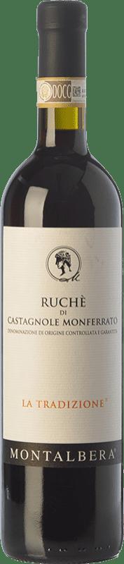 11,95 € Envoi gratuit | Vin rouge Montalbera La Tradizione D.O.C. Ruchè di Castagnole Monferrato Piémont Italie Ruchè Bouteille 75 cl