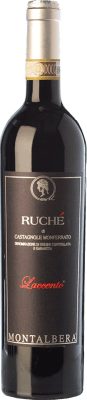 13,95 € Envoi gratuit | Vin rouge Montalbera Laccento D.O.C. Ruchè di Castagnole Monferrato Piémont Italie Ruchè Bouteille 75 cl