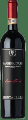 13,95 € Envoi gratuit | Vin rouge Montalbera Lequilibrio D.O.C. Barbera d'Asti Piémont Italie Barbera Bouteille 75 cl