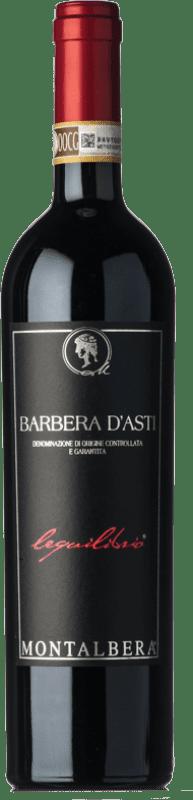 13,95 € Envío gratis   Vino tinto Montalbera Lequilibrio D.O.C. Barbera d'Asti Piemonte Italia Barbera Botella 75 cl