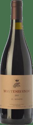 22,95 € Free Shipping | Red wine Montesecondo Il Rospo I.G.T. Toscana Tuscany Italy Cabernet Sauvignon Bottle 75 cl