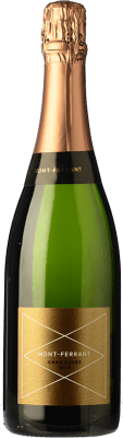 15,95 € Free Shipping | White sparkling Mont-Ferrant Gran Cuvée Gran Reserva D.O. Cava Catalonia Spain Macabeo, Xarel·lo, Chardonnay, Parellada Bottle 75 cl. | Thousands of wine lovers trust us to get the best price guarantee, free shipping always and hassle-free shopping and returns.