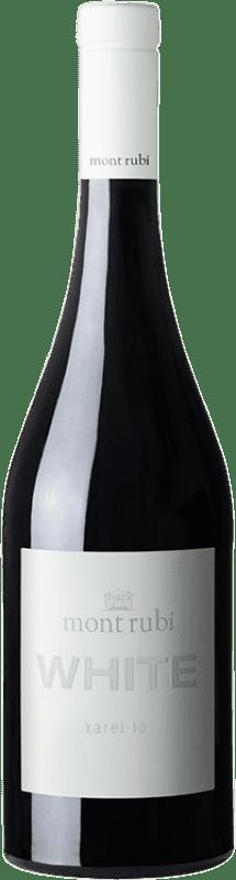 11,95 € Free Shipping | White wine Mont-Rubí White D.O. Penedès Catalonia Spain Xarel·lo Bottle 75 cl