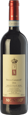21,95 € Free Shipping | Red wine Mossio Bricco Caramelli D.O.C.G. Dolcetto d'Alba Piemonte Italy Dolcetto Bottle 75 cl