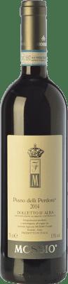 16,95 € Free Shipping | Red wine Mossio Piano delli Perdoni D.O.C.G. Dolcetto d'Alba Piemonte Italy Dolcetto Bottle 75 cl