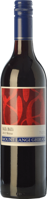 14,95 € Free Shipping | Red wine Mount Langi Ghiran Billi Billi Shiraz Crianza I.G. Grampians Grampians Australia Syrah Bottle 75 cl