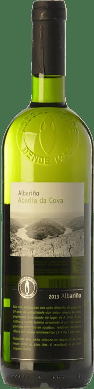 13,95 € Free Shipping | White wine Moure Abadía da Cova D.O. Ribeira Sacra Galicia Spain Albariño Bottle 75 cl