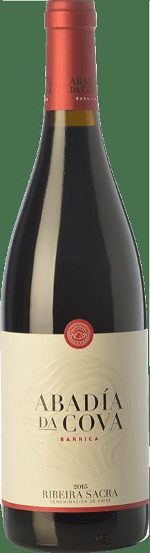 14,95 € Free Shipping | Red wine Moure Abadía da Cova Barrica Joven D.O. Ribeira Sacra Galicia Spain Mencía Bottle 75 cl