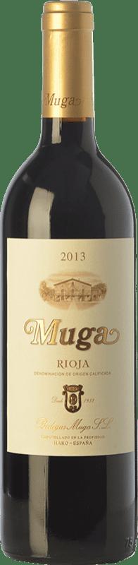 17,95 € Envío gratis | Vino tinto Muga Crianza D.O.Ca. Rioja La Rioja España Tempranillo, Garnacha, Graciano, Mazuelo Botella 75 cl
