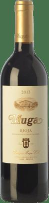11,95 € Envío gratis | Vino tinto Muga Crianza D.O.Ca. Rioja La Rioja España Tempranillo, Garnacha, Graciano, Mazuelo Media Botella 37 cl