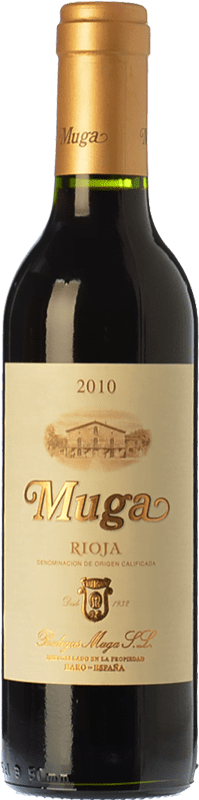 178,95 € Free Shipping | Red wine Muga Crianza 2010 D.O.Ca. Rioja The Rioja Spain Tempranillo, Grenache, Graciano, Mazuelo Special Bottle 5 L