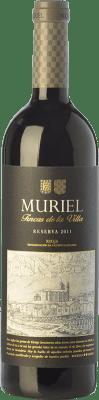 9,95 € Kostenloser Versand | Rotwein Muriel Fincas de la Villa Reserva D.O.Ca. Rioja La Rioja Spanien Tempranillo Flasche 75 cl