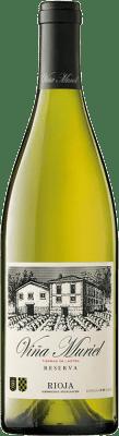 11,95 € Kostenloser Versand | Weißwein Muriel Viña Muriel Reserva D.O.Ca. Rioja La Rioja Spanien Viura Flasche 75 cl