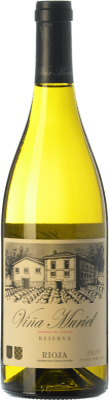 13,95 € Free Shipping | White wine Muriel Viña Muriel Reserva D.O.Ca. Rioja The Rioja Spain Viura Bottle 75 cl