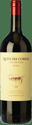 85,95 € Envío gratis | Vino tinto Mustiguillo Quincha Corral Crianza D.O.P. Vino de Pago El Terrerazo Comunidad Valenciana España Bobal Botella 75 cl