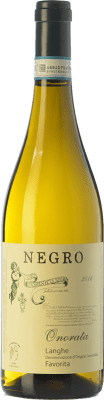 13,95 € Free Shipping | White wine Negro Angelo Onorata D.O.C. Langhe Piemonte Italy Favorita Bottle 75 cl
