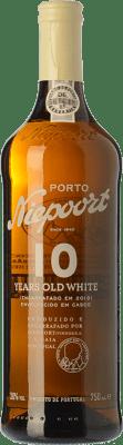 31,95 € Envío gratis | Vino dulce Niepoort 10 Years Old White I.G. Porto Porto Portugal Códega, Rabigato, Viosinho, Arinto Botella 75 cl